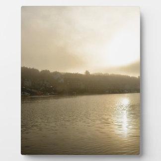 Placa Expositora Mañana de niebla de Whitby
