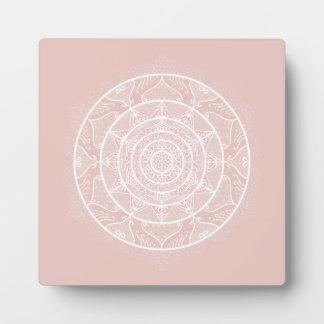 Placa Expositora Mandala de la malva