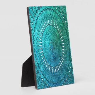Placa Expositora Mandala de la turquesa
