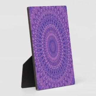 Placa Expositora Mandala púrpura