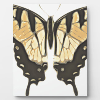 Placa Expositora mariposa cercana