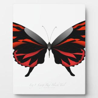 Placa Expositora Mariposa roja 1 por los fernandes tony