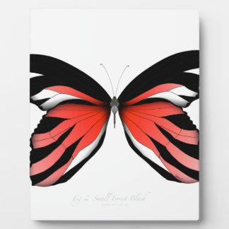 Placa Expositora Mariposa roja 2 por los fernandes tony
