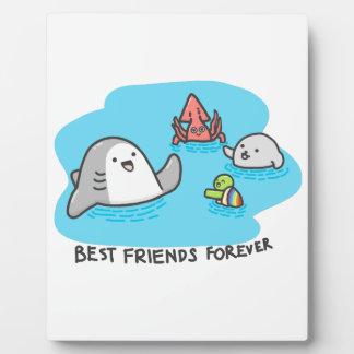 Placa Expositora ¡Mejores amigos para siempre!