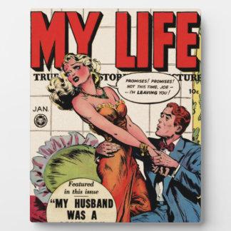 Placa Expositora Mi vida