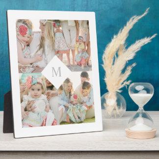 Placas fotograbadas con fotos en Zazzle