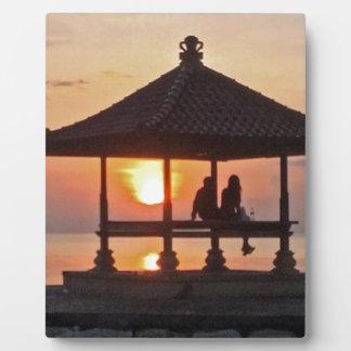 Placa Expositora Moring en la isla de Bali