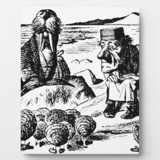 Placa Expositora Morsa, Carpeter y ostras