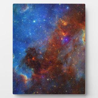 Placa Expositora NASA norteamericana del continente de la nebulosa