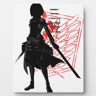 Placa Expositora Nuestro solamente guerrero de la esperanza