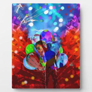 Placa Expositora Nueva vida del Año Nuevo