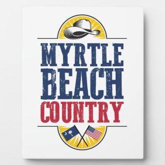 Placa Expositora País de Myrtle Beach