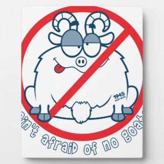 Placa Expositora pare la camisa de la cabra de Chicago