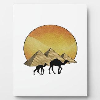 Placa Expositora Paso egipcio