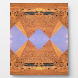 Placa Expositora Pirámides psicodélicas