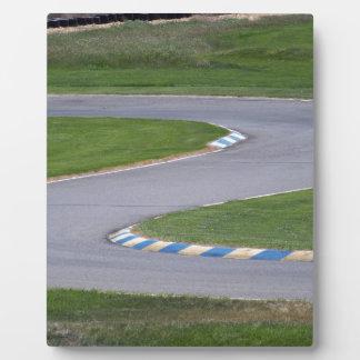 Placa Expositora Pista de Kart
