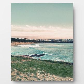Placa Expositora Playa Newquay de Great Western
