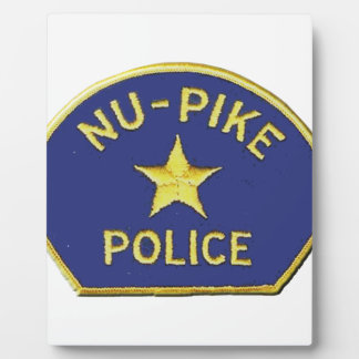 Placa Expositora Policía de NU-Pike