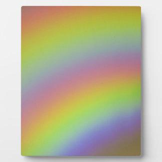Placa Expositora Producto del arco iris