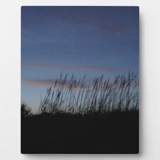 Placa Expositora Puesta del sol en la playa