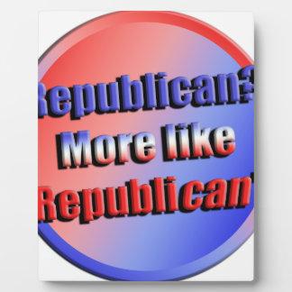 Placa Expositora Republicant