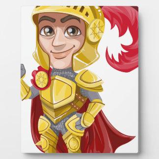 Placa Expositora Rey príncipe Armor