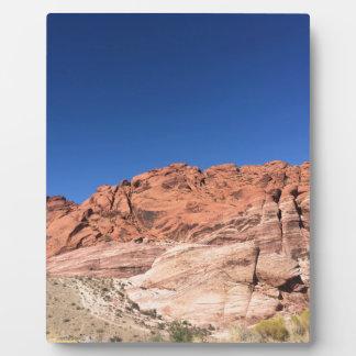 Placa Expositora Rocas rojas y cielos azules