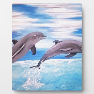 Placa Expositora Salto del delfín