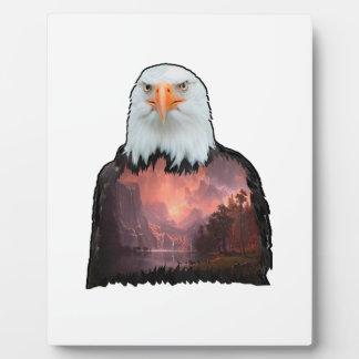 Placa Expositora Sello del valiente