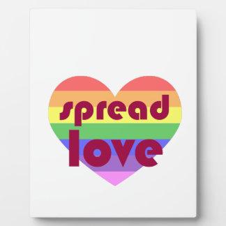 Placa Expositora Separe el amor gay