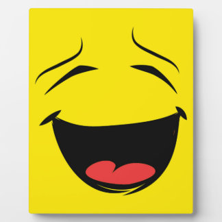 PLACA EXPOSITORA SMILEY AMARILLO