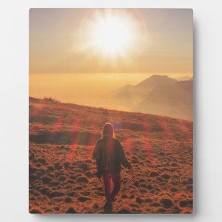 Placa Expositora Sol - amanecer u oscuridad