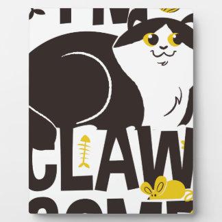 Placa Expositora Soy gato