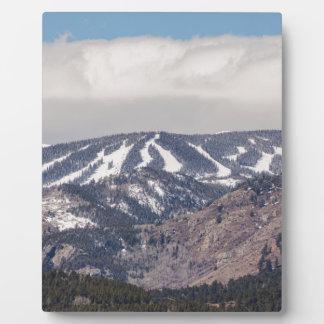 Placa Expositora Sueño de la cuesta del esquí