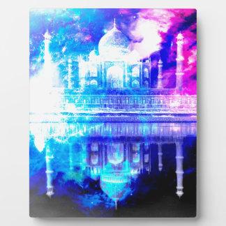Placa Expositora Sueños del Taj Mahal del cielo de la creación