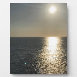 Placa Expositora Sun en el agua