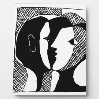 Placa Expositora Susurro del amor