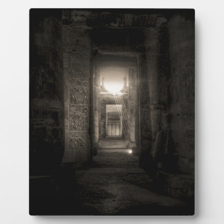 Placa Expositora Templo Abydos 2 de Seti I