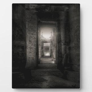 Placa Expositora Templo Abydos de Seti I