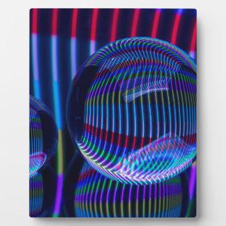 Placa Expositora Tres bolas llenas