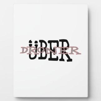 Placa Expositora Uber Droner