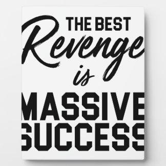 Placa Expositora Venganza del éxito