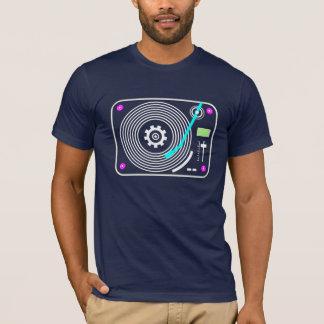 Placa giratoria de neón camiseta