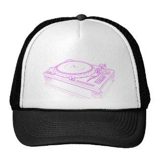 Placa giratoria rosada gorra