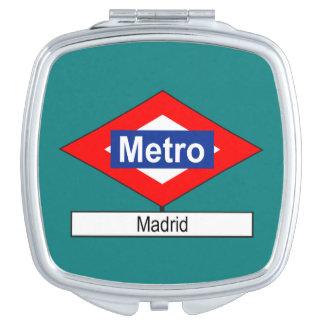 Placa Metro Madrid Espejo De Viaje
