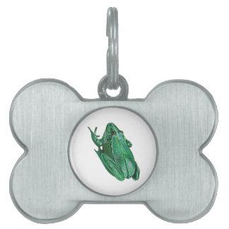 Placa Para Mascotas Adenture de Kermit