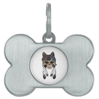 Placa Para Mascotas Alcohol nativo