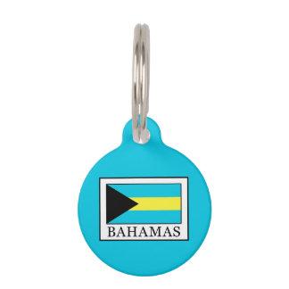 Placa Para Mascotas Bahamas