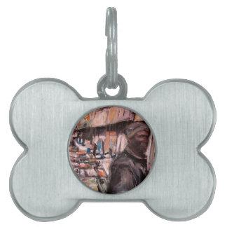 Placa Para Mascotas comprador de Dublín de la calle de Moore