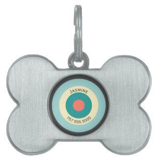 Placa Para Mascotas Diana gris de la combinación de Shirley Taylor